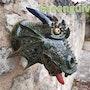 Greenguivre restera toujours vert.. Les Gargouilles De Cl