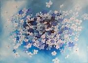 Fleurs Bleu.
