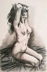 Nu féminin. Emilie Chalard