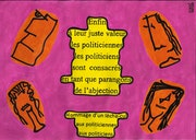 Hommage d'un lèche-cul aux politiciennes aux politiciens 4318.. Dominique Cauvé