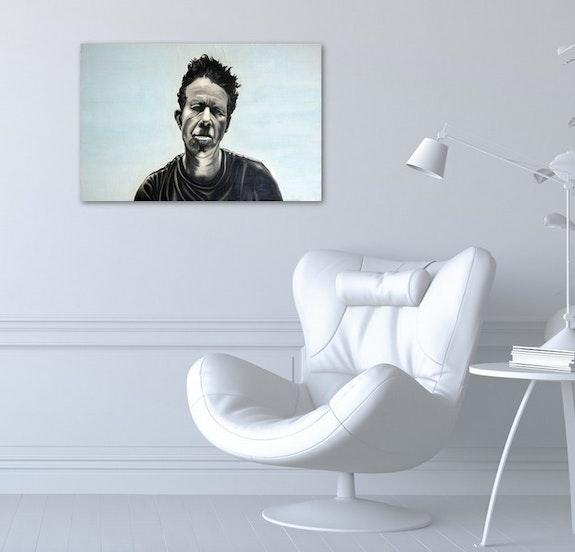 Tom Waits dans un salon. Jean-François Ferbos Ferbos Jean-François
