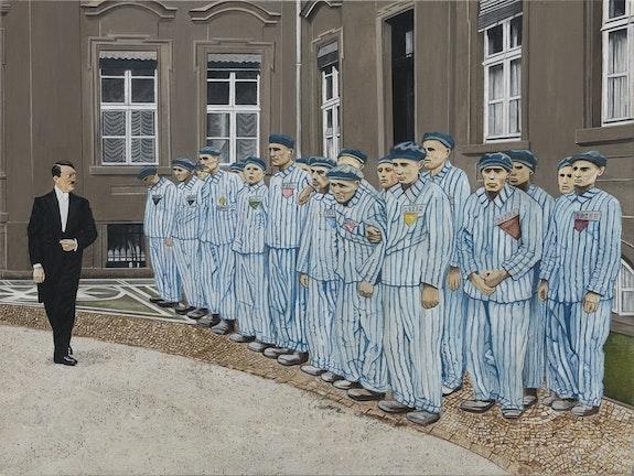 Saluto ai detenuti - Greeting to Inmates. Pasquale Pacelli Biafarin