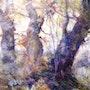 Les présences de l'aube. Anne Huet Baron
