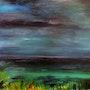 Clair de lune sur l'étang. Marie-Claude Lambert