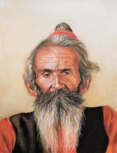 Pushkar man. Sasho Violetov