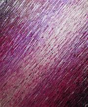 Abstraktes Gemälde : Irisierende rosa Silberperlen weiße Messer Textur..