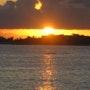 Coucher de soleil à Saint-François - Guadeloupe. Denise Doderisse