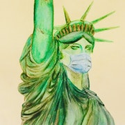 Statue of Liberty. Abir Hassouna