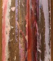 Sylvain Dhuême - Autoportrait - La couleur envahissante - 1995.