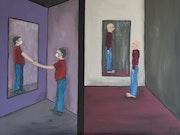 Miroir… Mon compagnon.