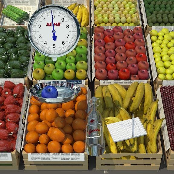 Fruta. Juan Aguirre