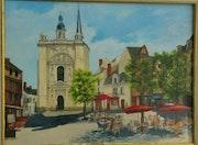 La place st Pierre à Saumur. So Rémy