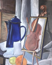 Cubist Composition. Sax Sumeray