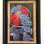 Quelques fruits / Acrylique vernie. Mariraff