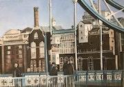 Butlers Wharf. Sax Sumeray