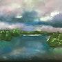 La Loire avant l'orage. Catherine Souet-Bottiau