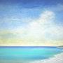 A la plage. Etienne Boutin