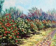 Rose garden. Haykuhifineart