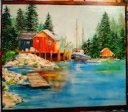 Maisons de pêcheurs.