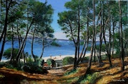 Plage Pereire. Pascale Harnisch