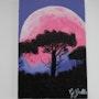 Lune rose. Georgette Gallo
