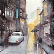 Une rue imaginaire.