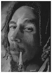Bob Marley. Wpascal