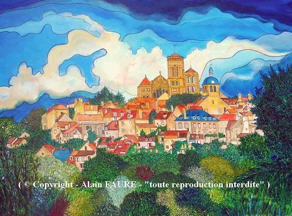 Vezelay. Alain Faure Alain Faure En Peinture