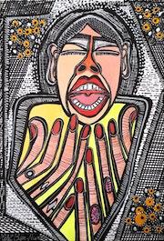 Artist open art studio tours for groups Israel. Mirit Ben-Nun