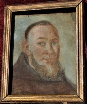 Le Père Cybot : pastel, XVIème-XVIIème.. Historien d'art, Archéologue; Chercheur Free-L.