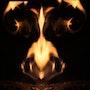 Dante, Inferno (en cours… ) (Pour qui l'ignore, ma matière, c'est le feu). Olga Voscannelli