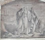 Marius abel : Matrice pour gravure sur bois, XIXème. S.. Historien d'art, Archéologue; Chercheur Free-L.