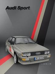 Audi ur Quattro. Thibaud Barillot