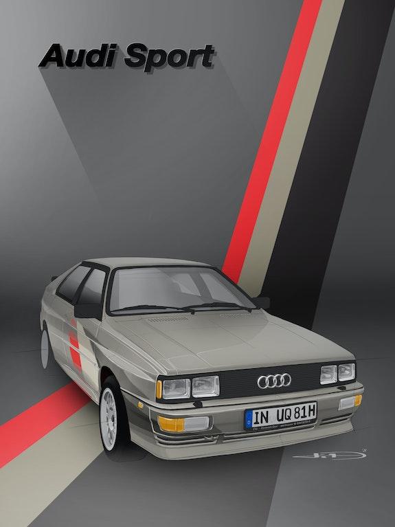 Audi ur Quattro. Thibaud Barillot Thibaud Barillot
