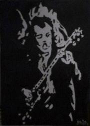 Angus Young. Jaja