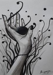 La sphère noire.