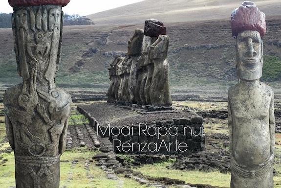 Moai Rapanui. Diego Renza Diego Renza