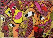 Personnages et tonalités féminines. Manadraw