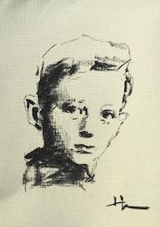 Textured 10: Little Boy. Dominique Dève