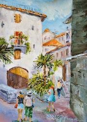 Mediterranean landscape. Kotor.. Elena Zorina