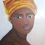 Portrait d'une Africaine. Ilham Balarh