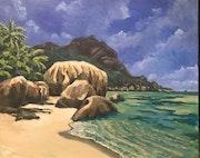 Seychellen - Anse Source D'Argent 2, La Digue. Martina Philippi