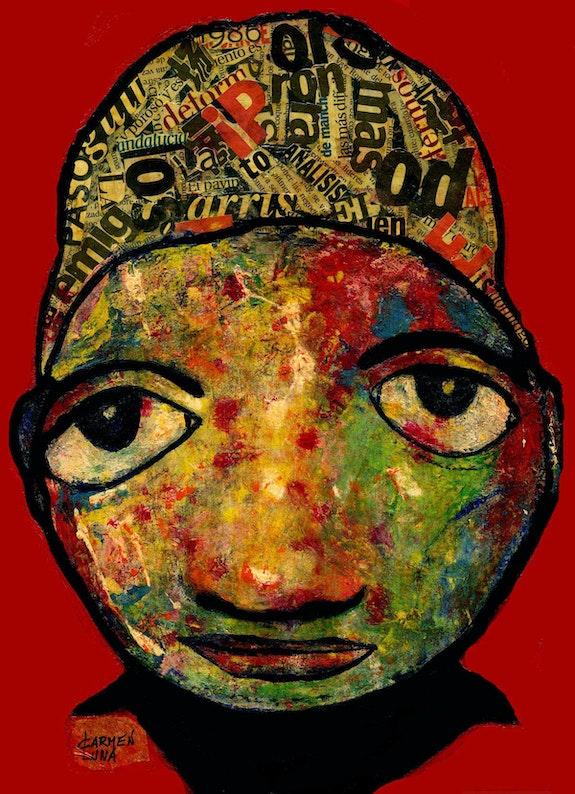 3- Exótica. (Retratos Expresionistas). Carmen Luna