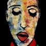 39- Mantra. (Retratos Expresionistas).. Carmen Luna