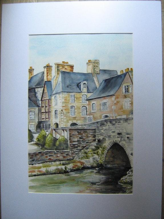 Village des Côtes d'Armor. Daniele Jondeau Dany
