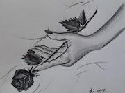 » Noire est la rose ».