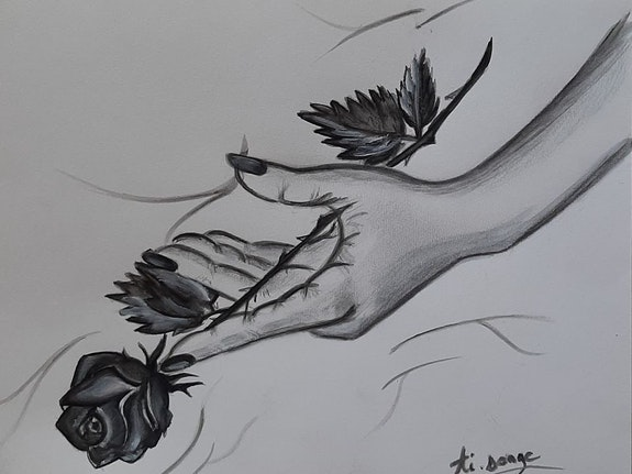 » Noire est la rose ». Ti. Songe Linda Guillou «Ti. Songe»