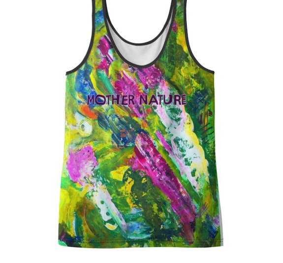 «Mother Nature» T-shirt - Urban Yoga Collection by moti. Moti Moti