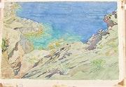 Henri. Rivière : Remous au moment du plat, au bas de la falaise de L…. Historien d'art, Archéologue; Chercheur Free-L.