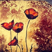 Poppies. Isabelle Le Pors